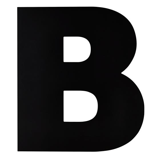 not-giant-enough-letter-b
