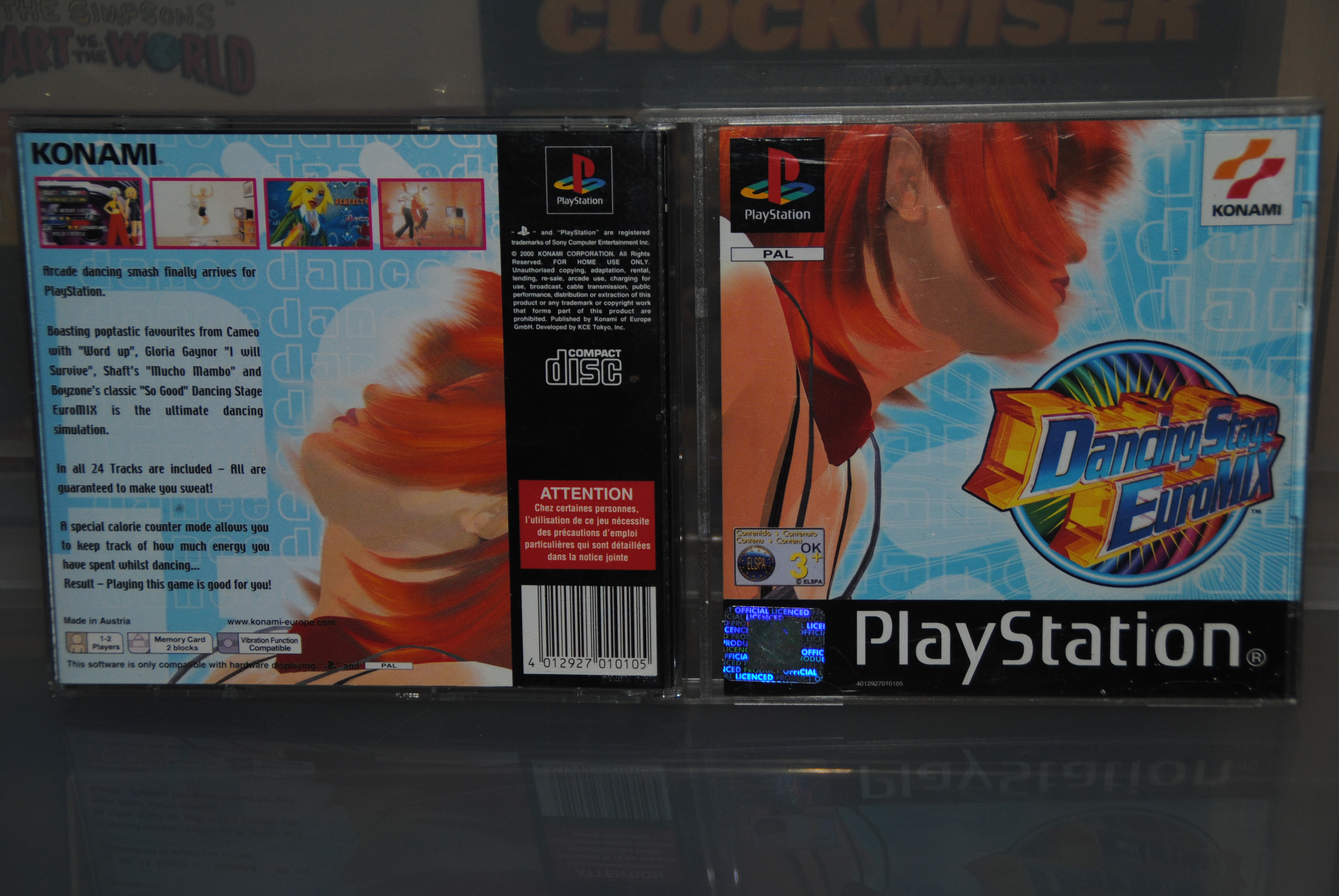 Dancing Stage Euromix Cover - Konami