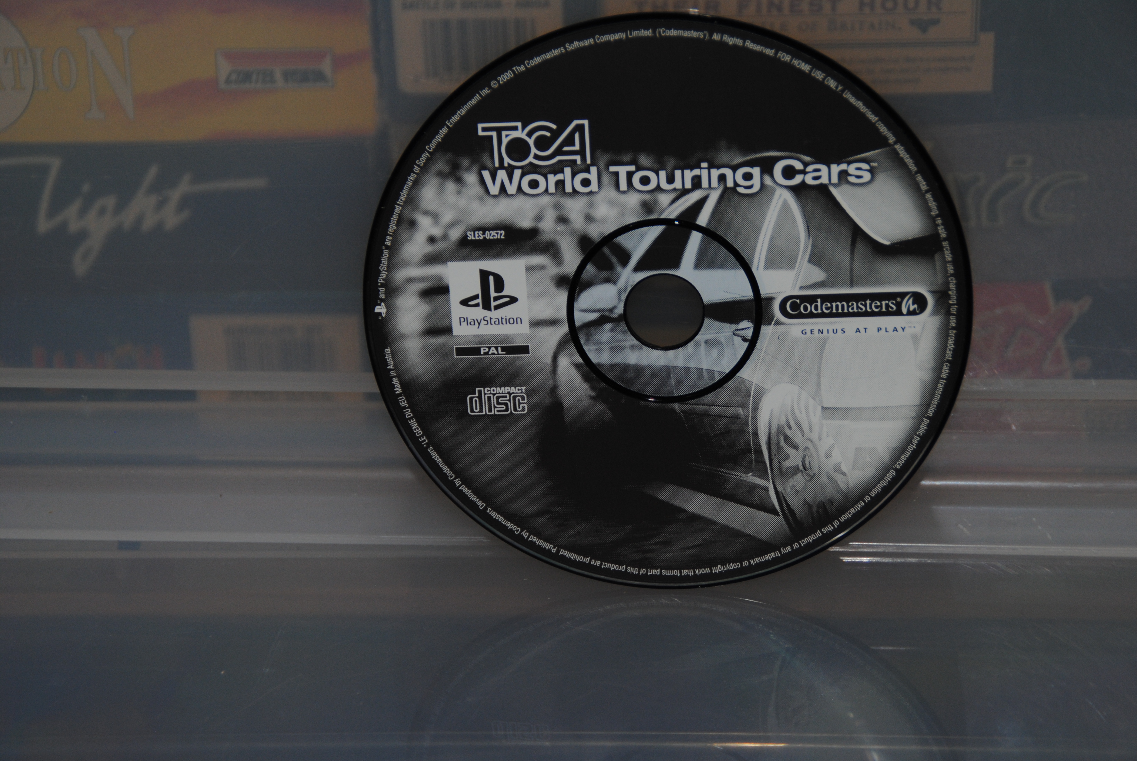 Codemasters - TOCA  Touring Cars CD