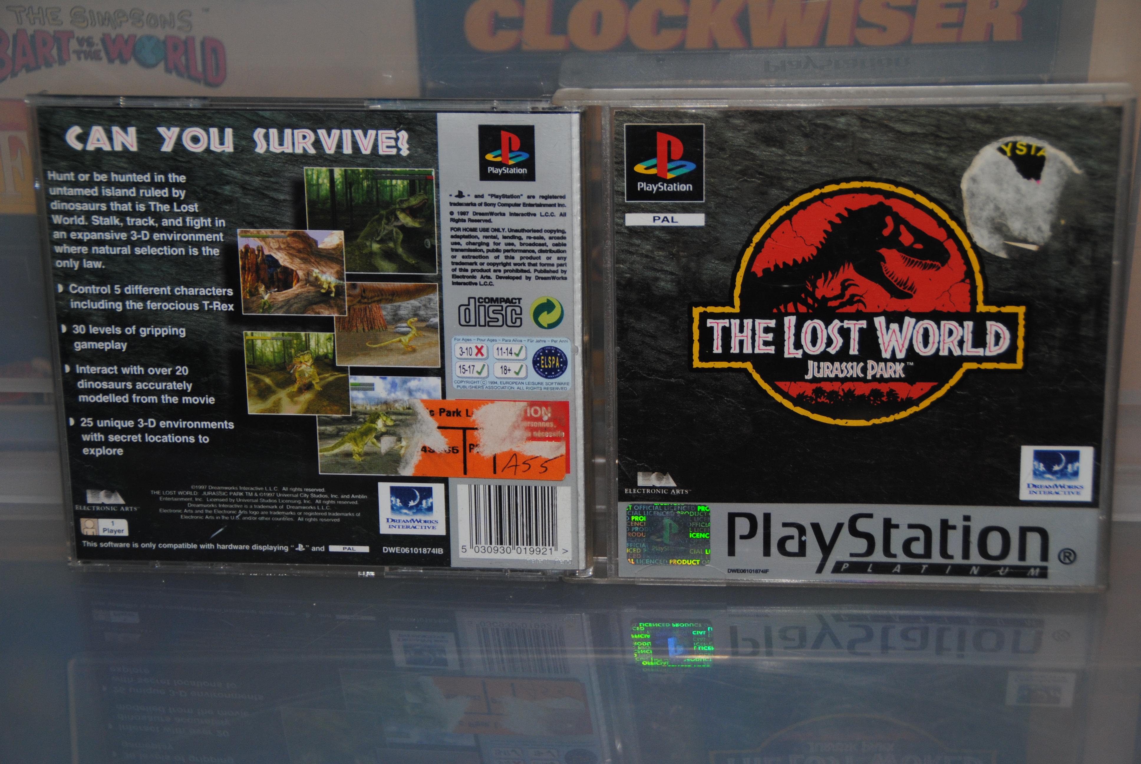 Jurassic Park - The Lost World - E.A