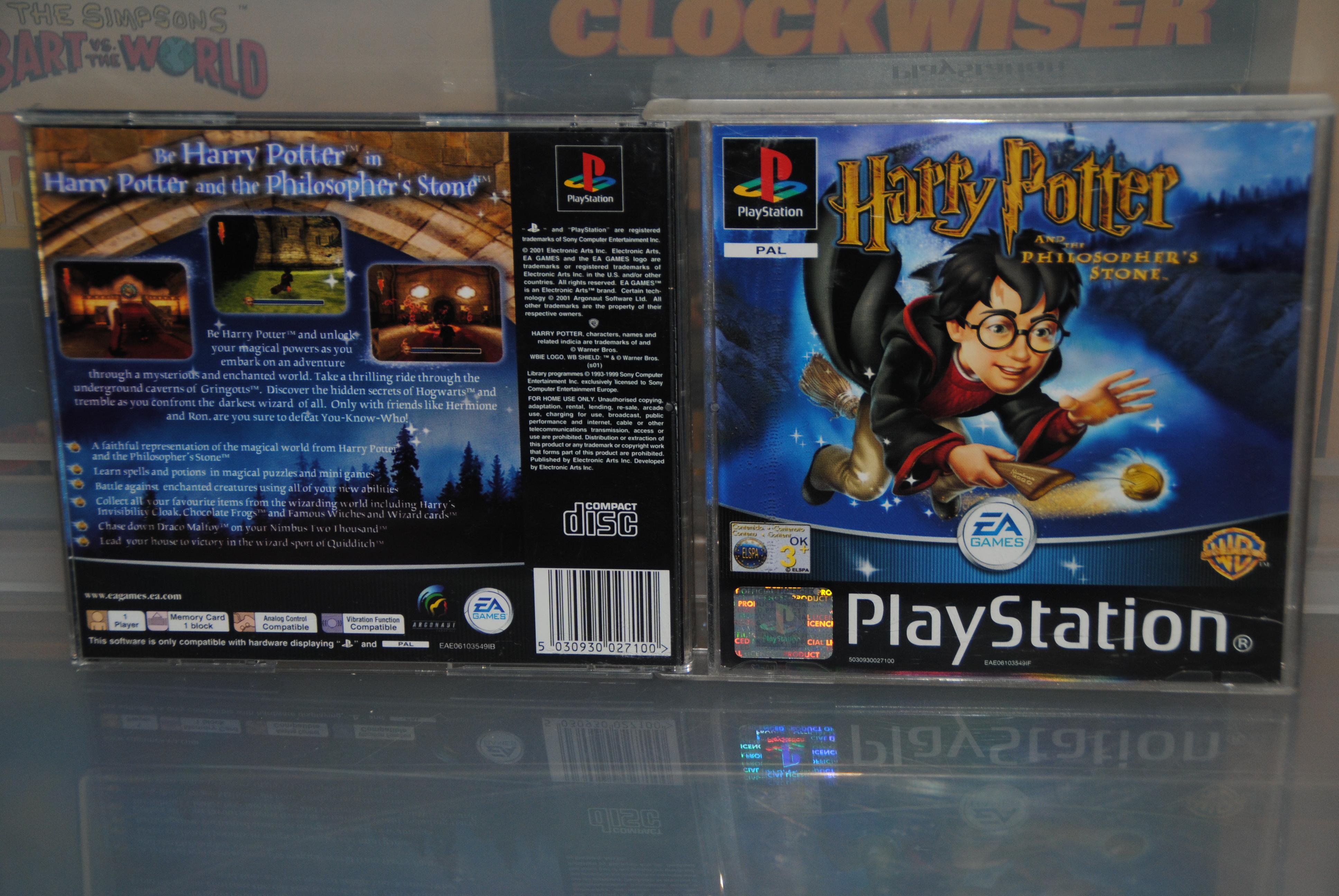 E.A - Harry Potter - Philosopheres Stone Cover
