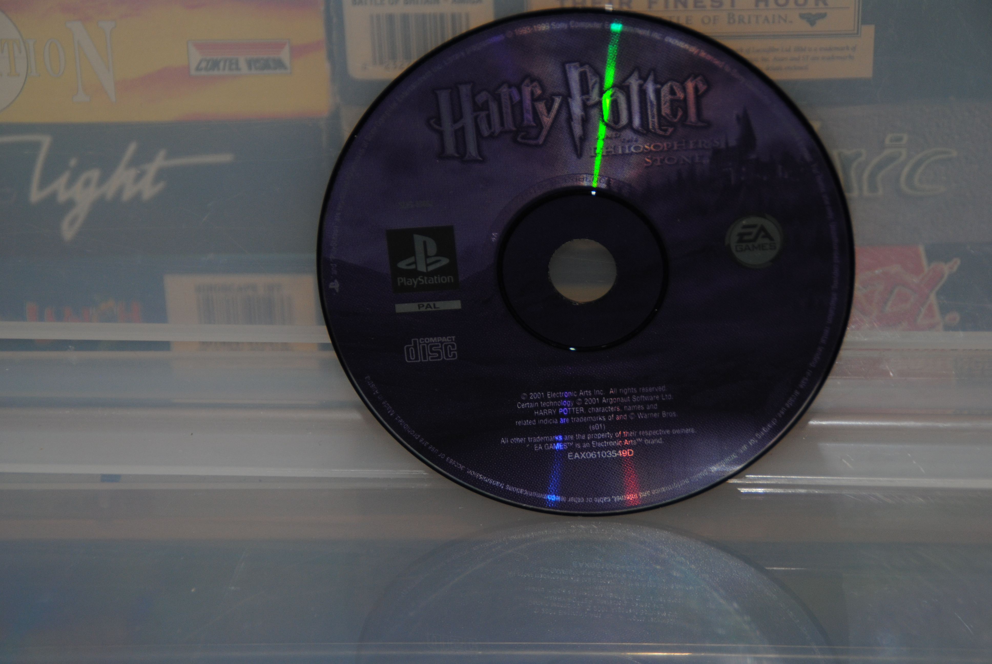 E.A - Harry Potter Philospers Stone CD