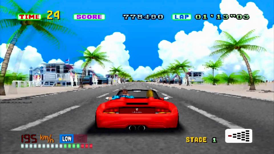 Out Run PS2