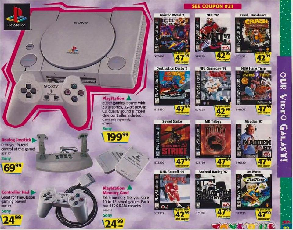 PS 1 Advert