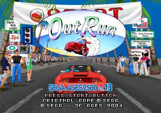 SEGA AGES - Out Run PS2