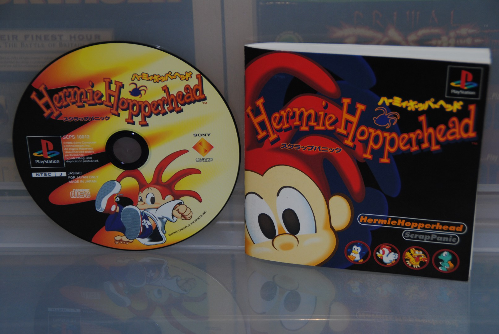 Manual and Disc, Hermie Hopperhead PS1
