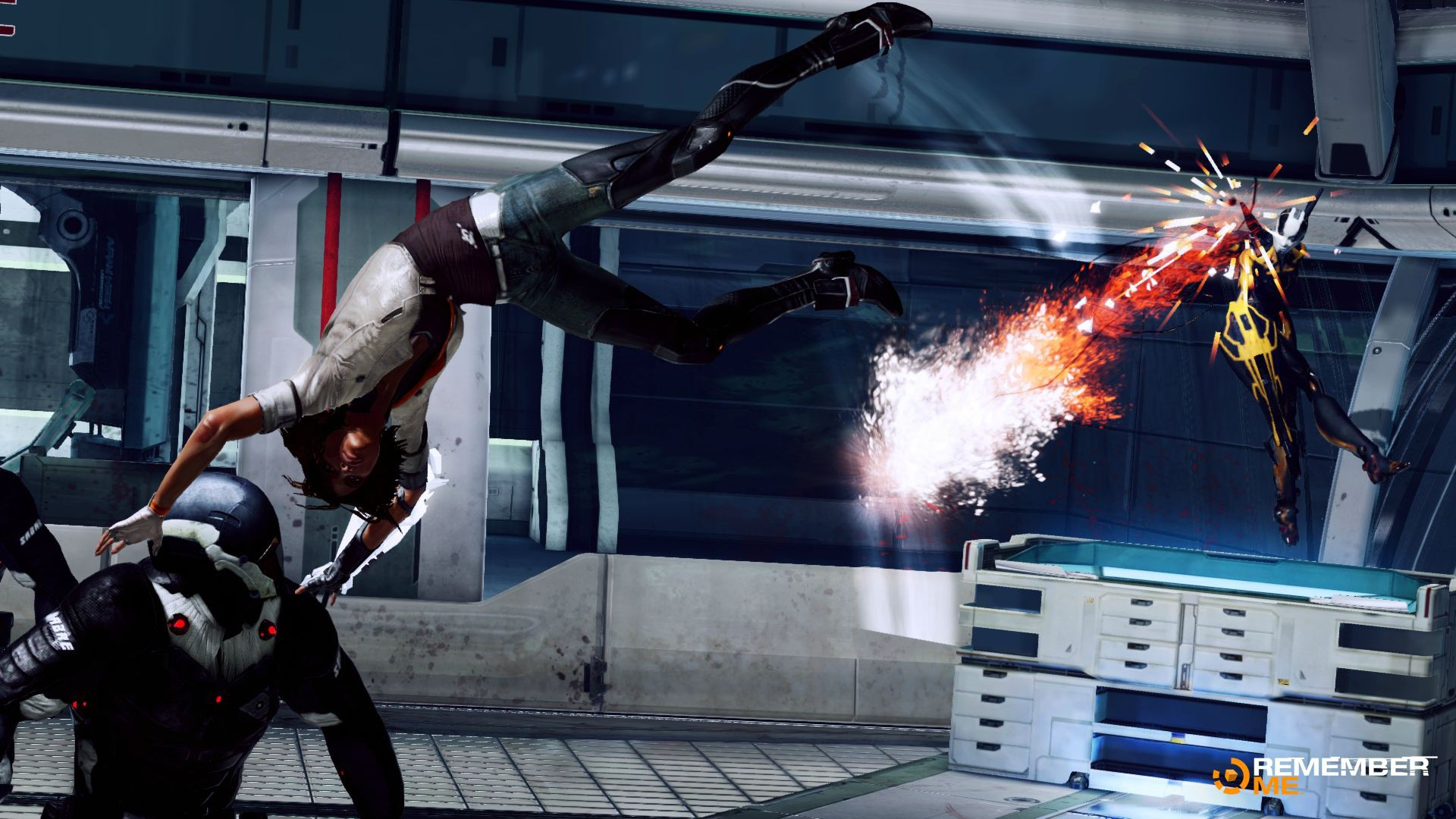 New Remember Me Screenshots focus on Combat and Customisable Combo System (9)
