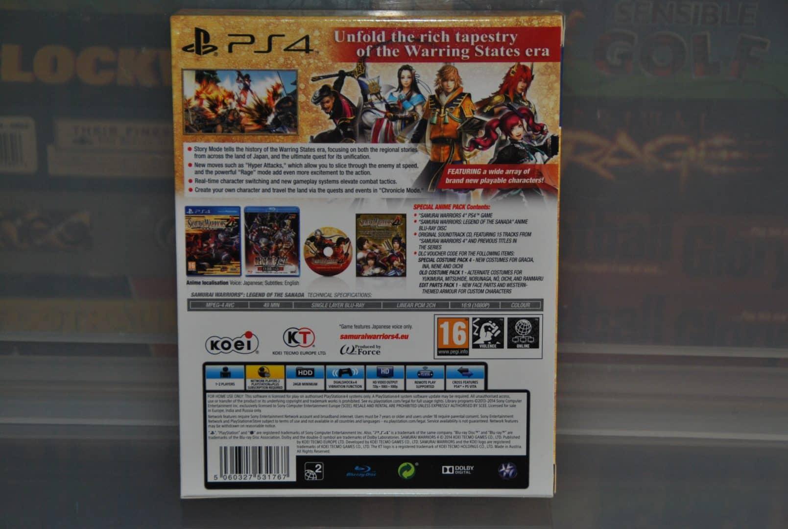 Samurai Warriors Rules! – Samurai Warriors 4 Special Edition