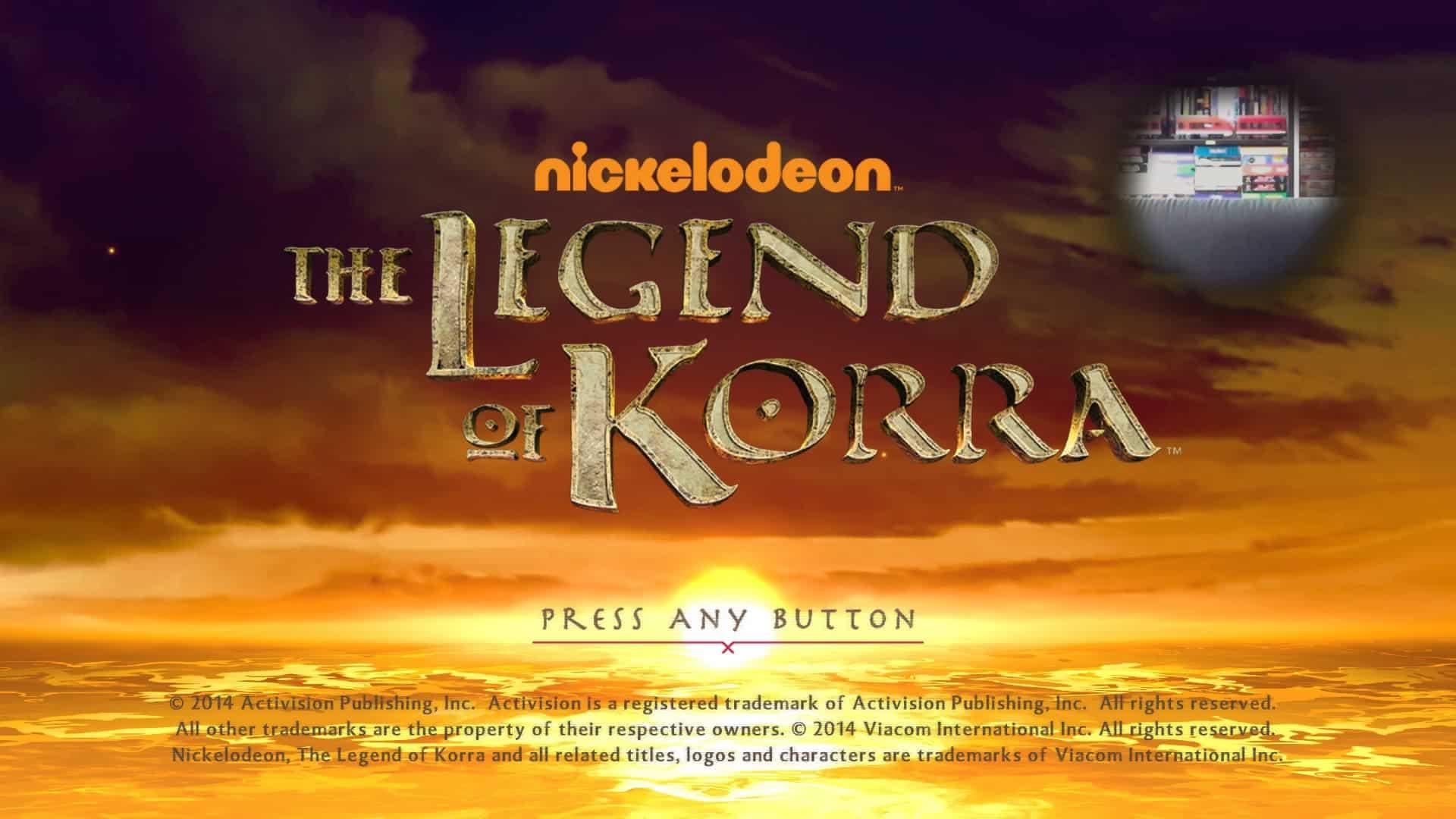 Legend Of Korra PS4