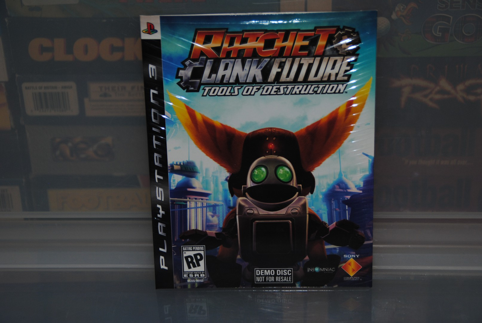 Ratchet And Clank Tools Of Destruction teaser Demo Disc.