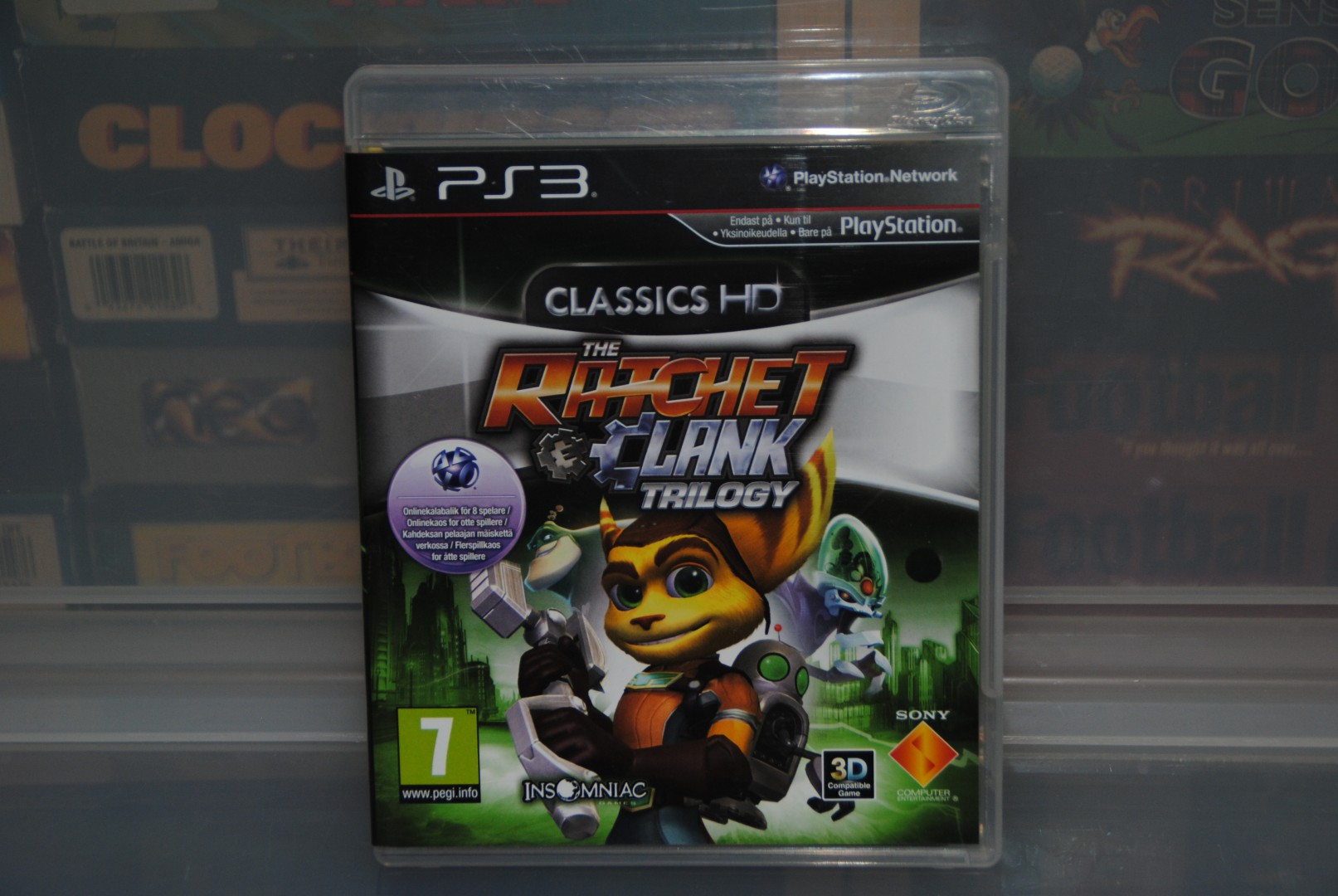 Ratchet & Clank Trilogy HD, PS2 games gone PS3.