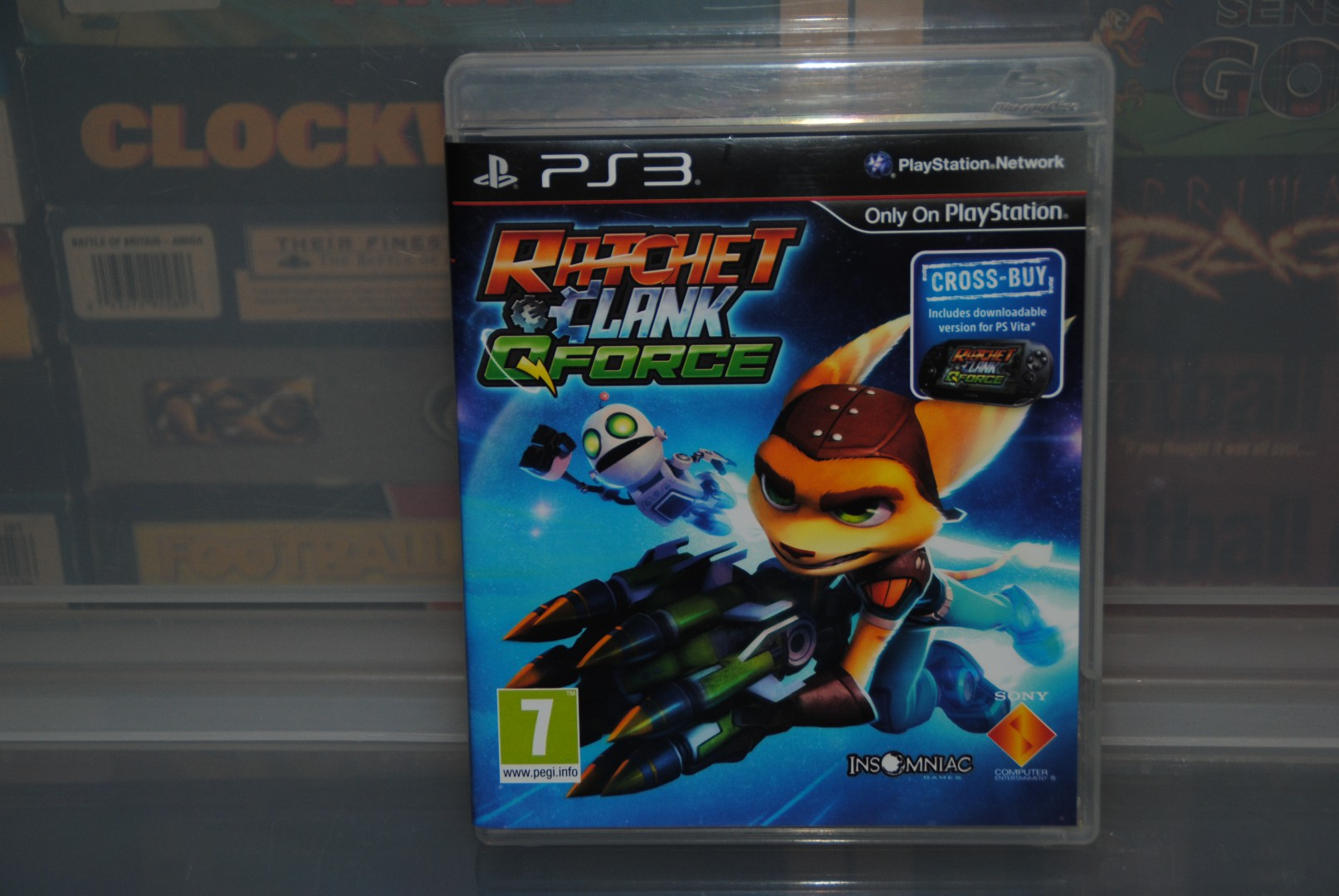 Ratchet & Clank: Q-Force PS3 Release Front.