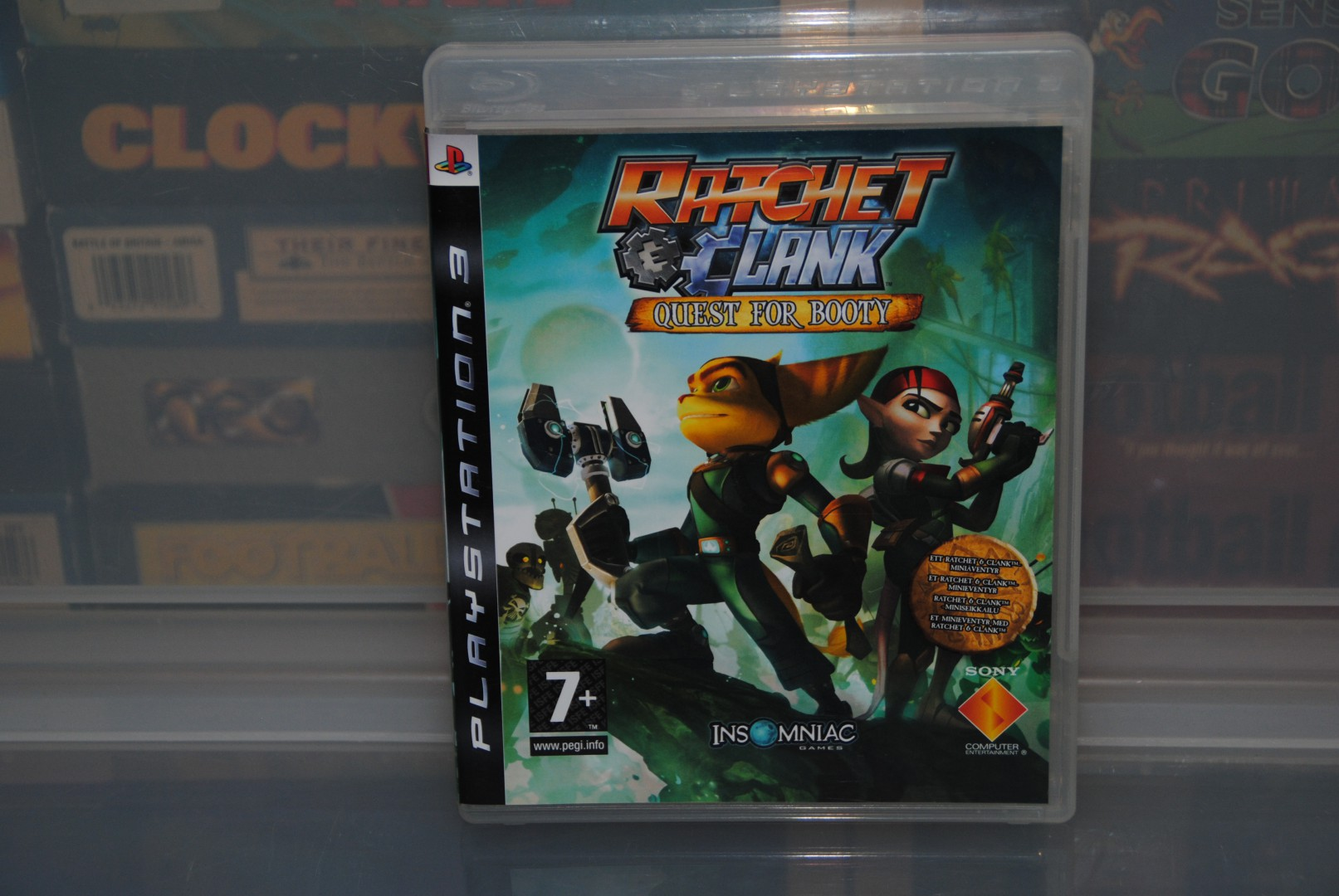 "Ratchet & Clank: Quest For Booty, the first ""cut down"" game in the series."