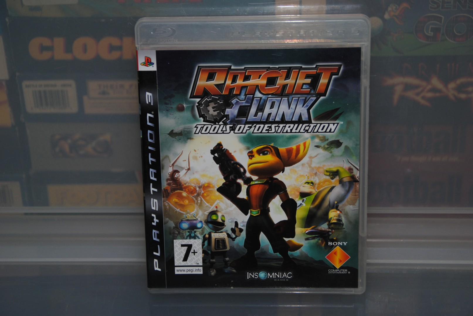 Ratchet & Clank - Tools Of Destruction PS3. EU Front