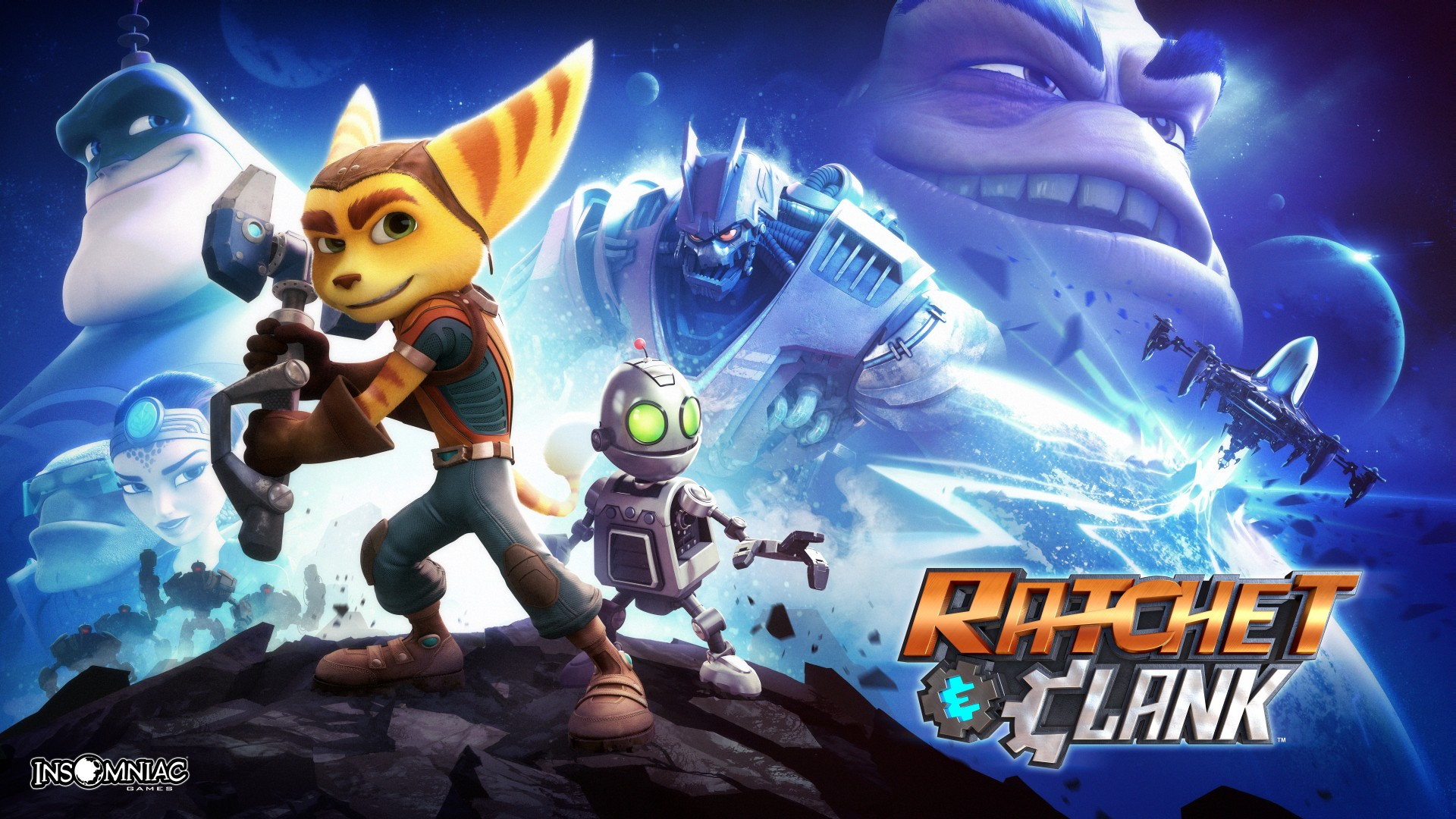Ratchet & Clank PS4 Poster