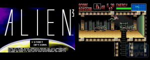 Amiga version of Alien 3. Picture from Hall of Light