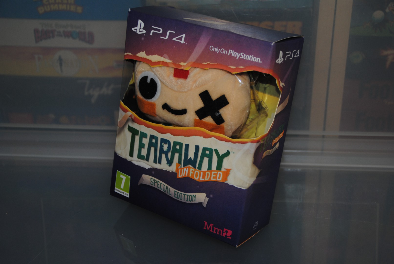 Tearaway  Unfolded Collectors Edition