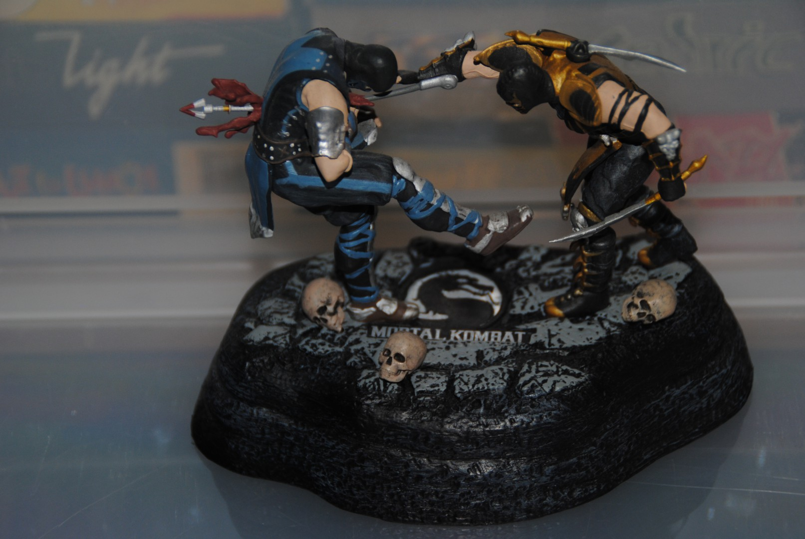 Diorama - Posture Mortal Kombat