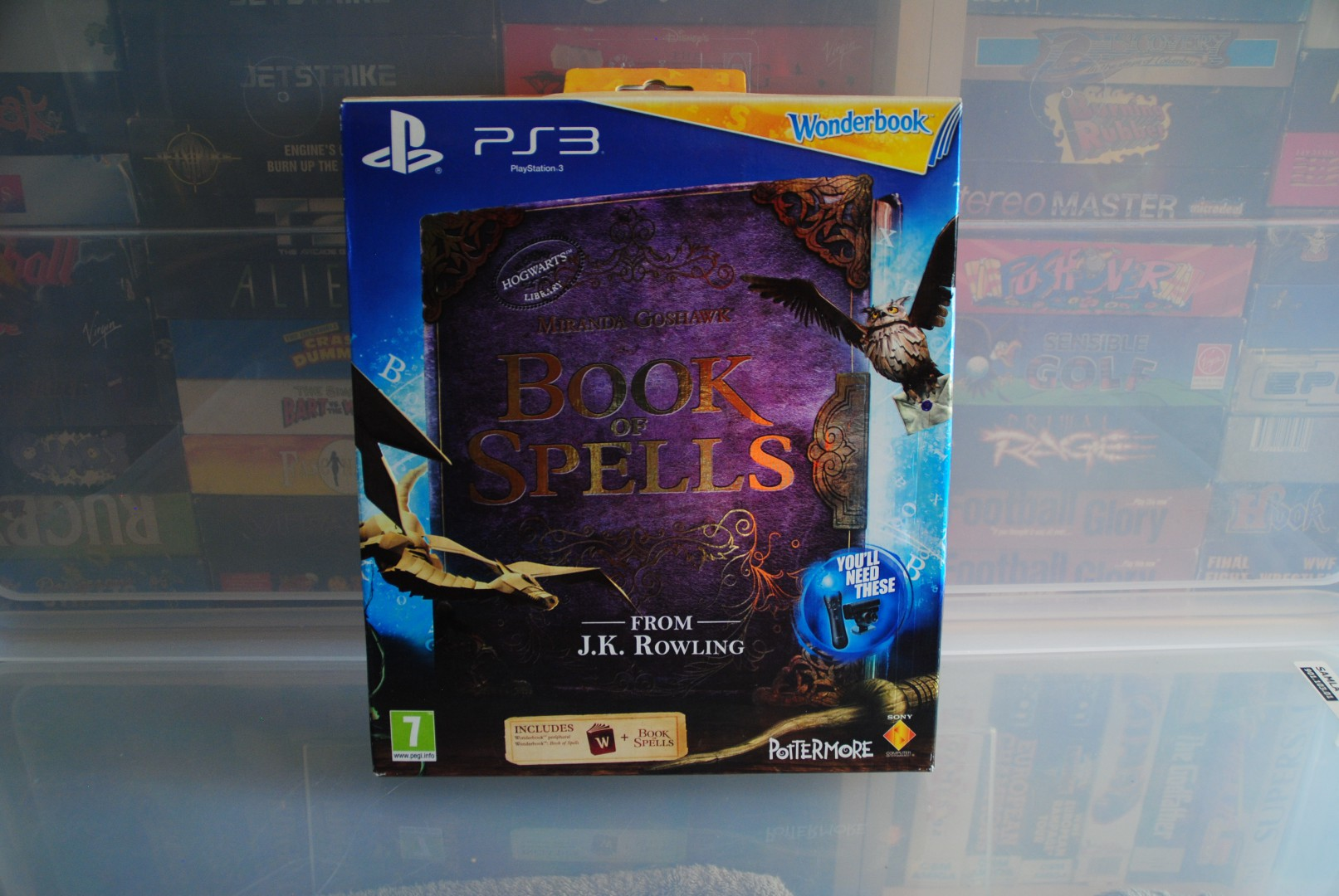 The First Book, Book Of Spells Front Box