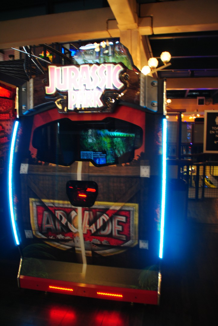 Jurassic Park Arcade / At Liseberg Fun Fair