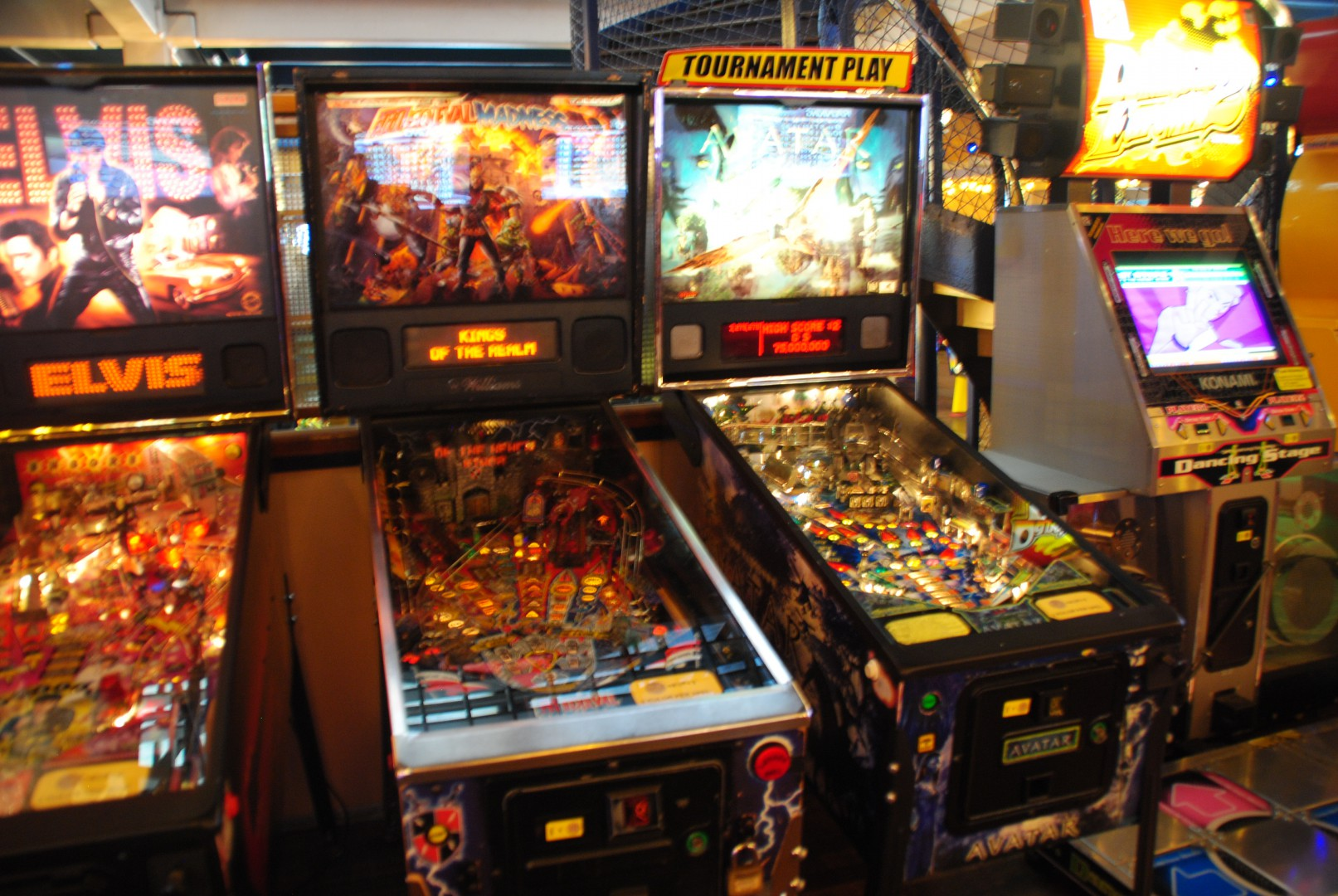 Medivial Madness Pinball / At Liseberg Fun Fair