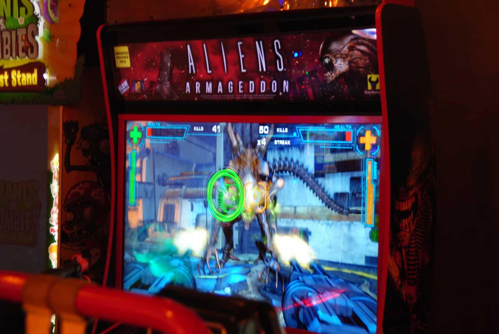 Aliens Armageddon / At Liseberg Fun Fair