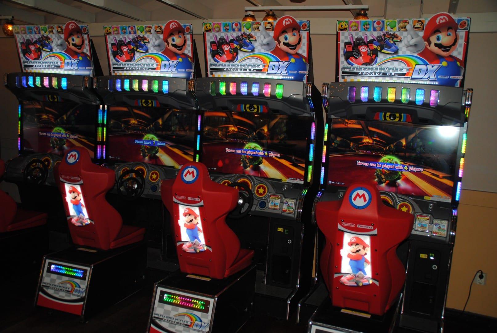 Mario Kart Arcade GP DX / At Liseberg Fun Fair