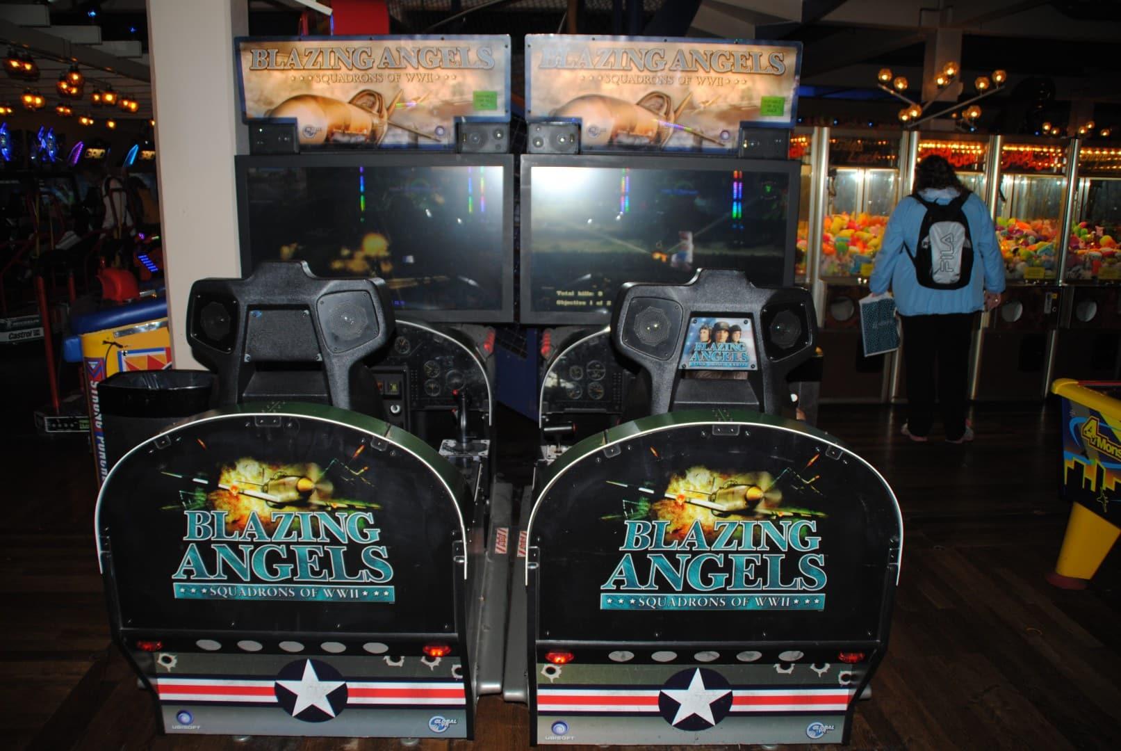 Blazing Angels / At Liseberg Fun Fair