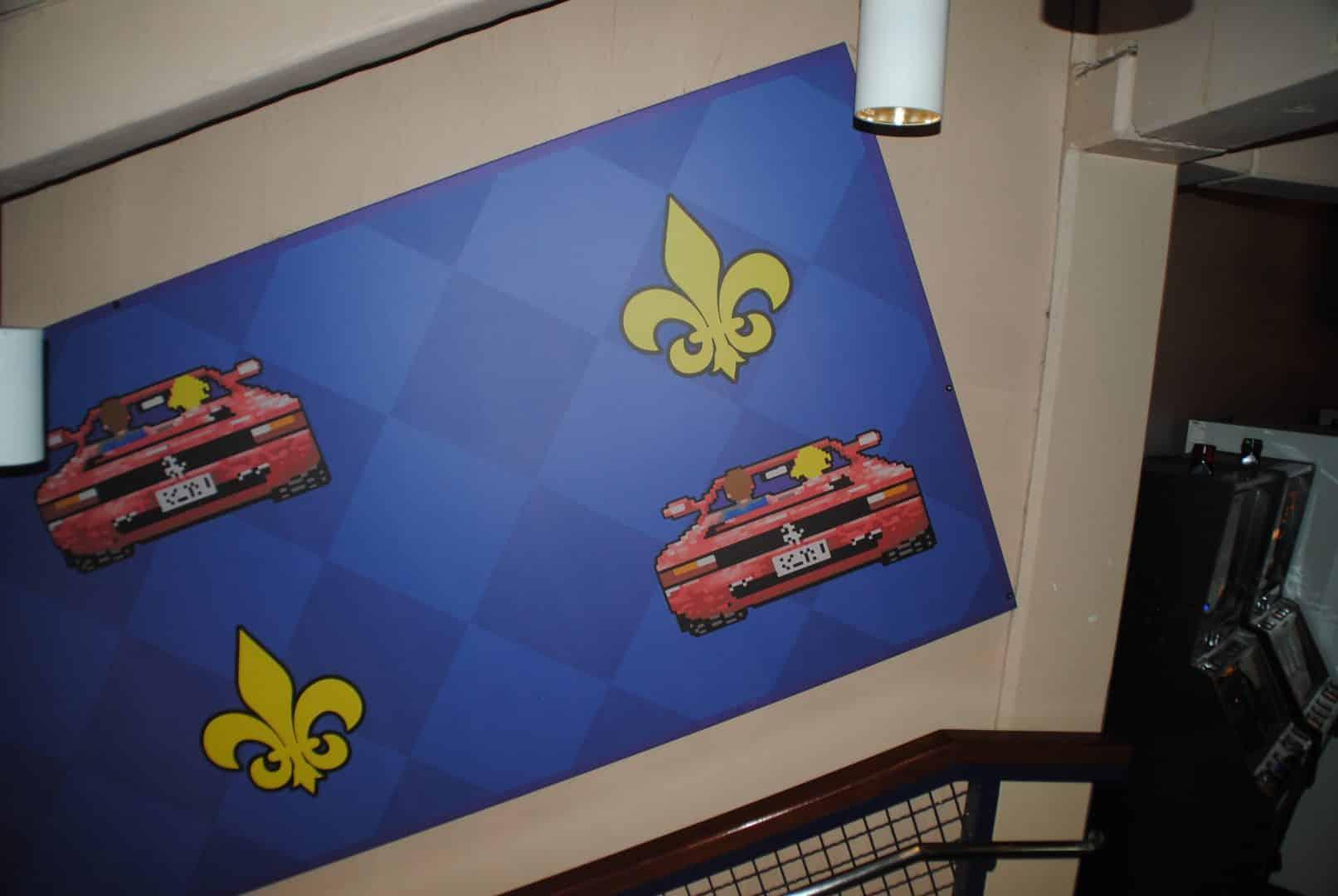 OutRun wall stuff :-) / At Liseberg Fun Fair