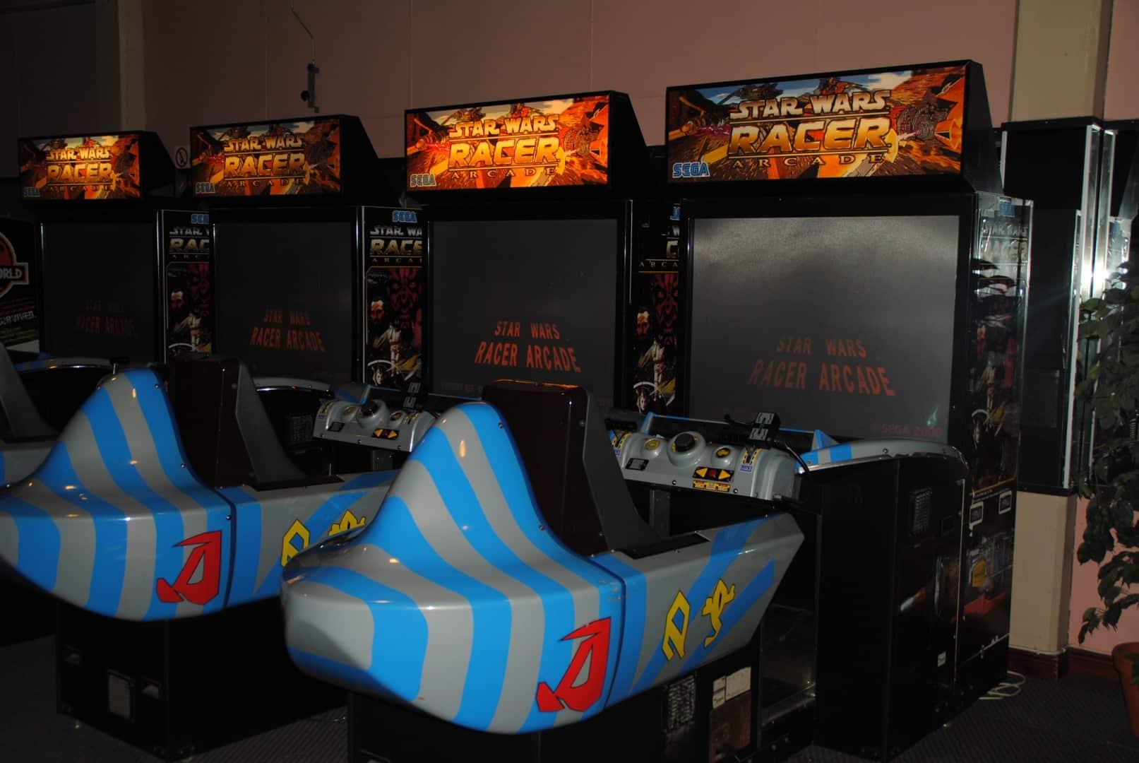 STAR WARS RACER Arcade / At Liseberg Fun Fair
