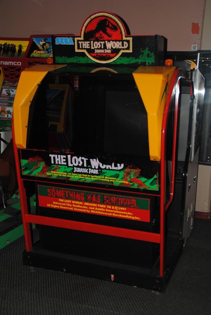 Jurassic Park The Lost World / At Liseberg Fun Fair