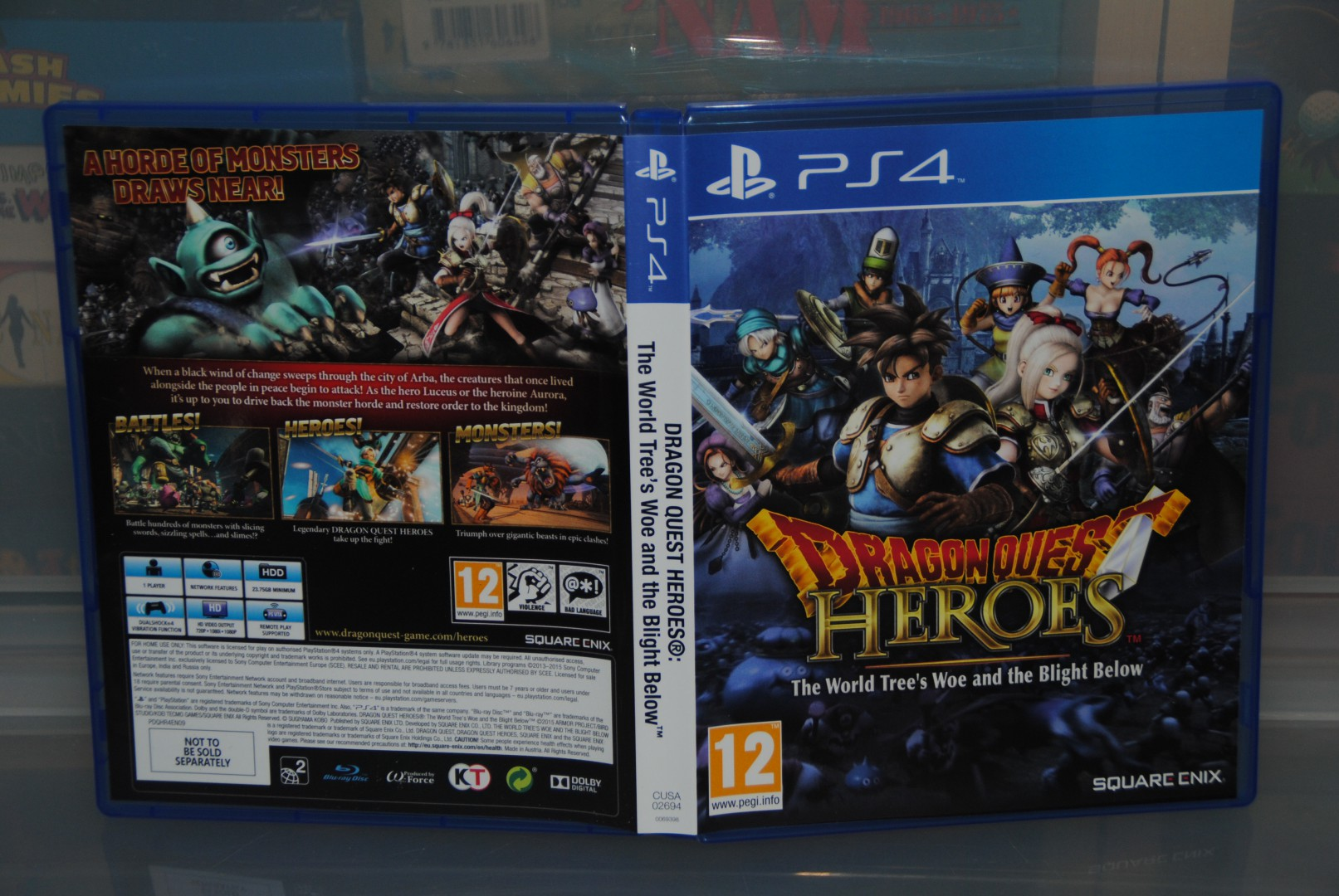 Dragon Quest Heroes, No steelbook?? WTF