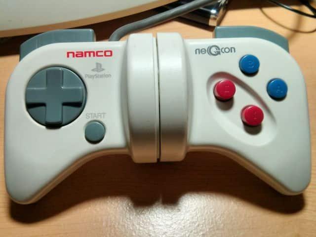 Namco NeGcon