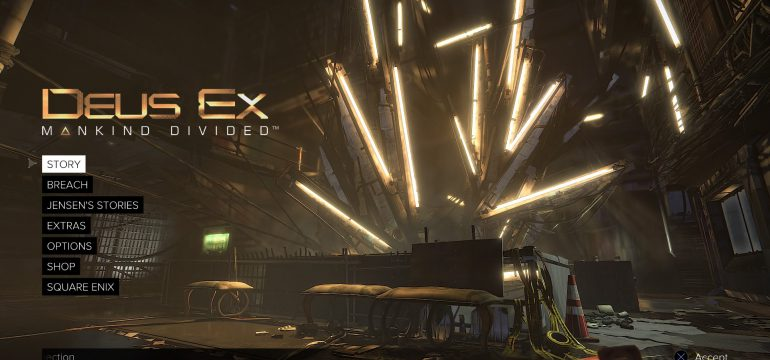 Unboxing Deus Ex.
