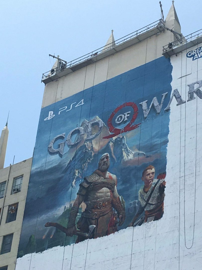 E3 ADVERT IN L.A