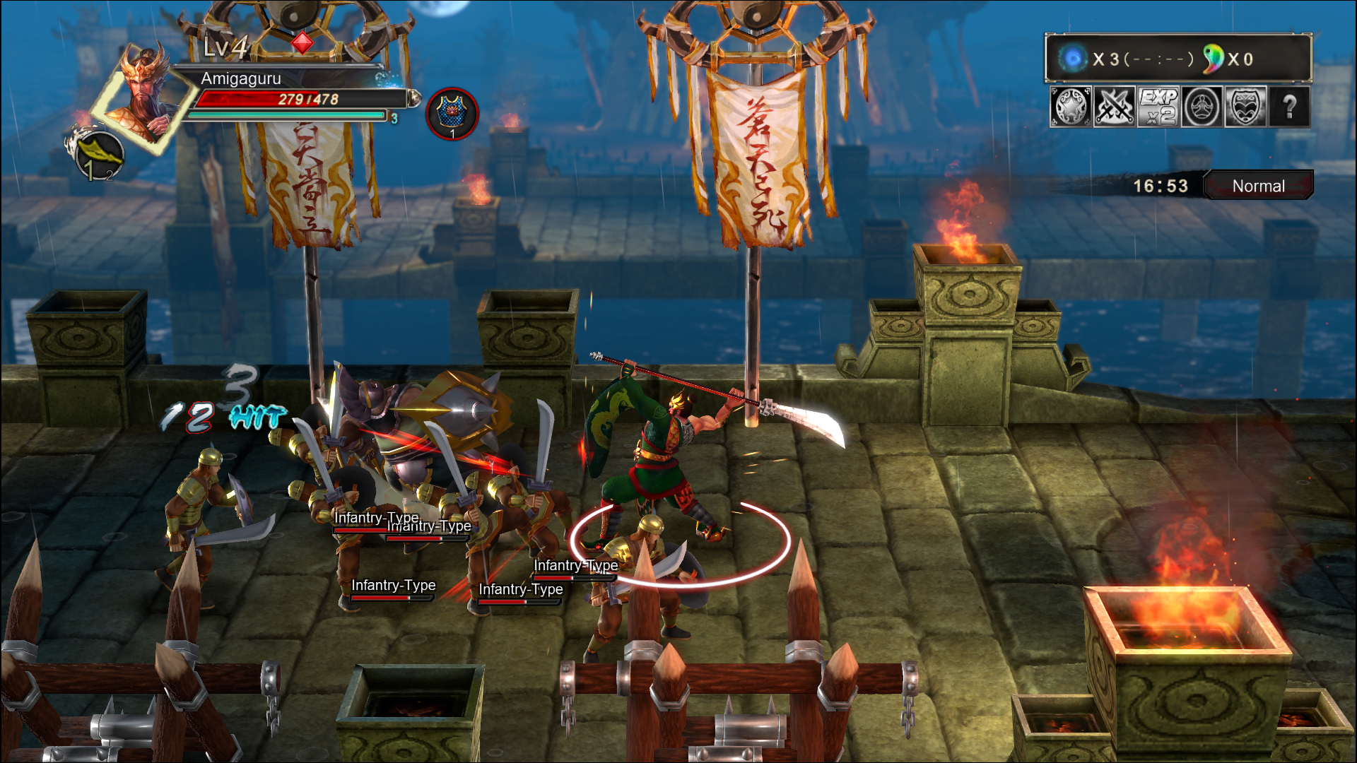 knights of valour 3 hd mame