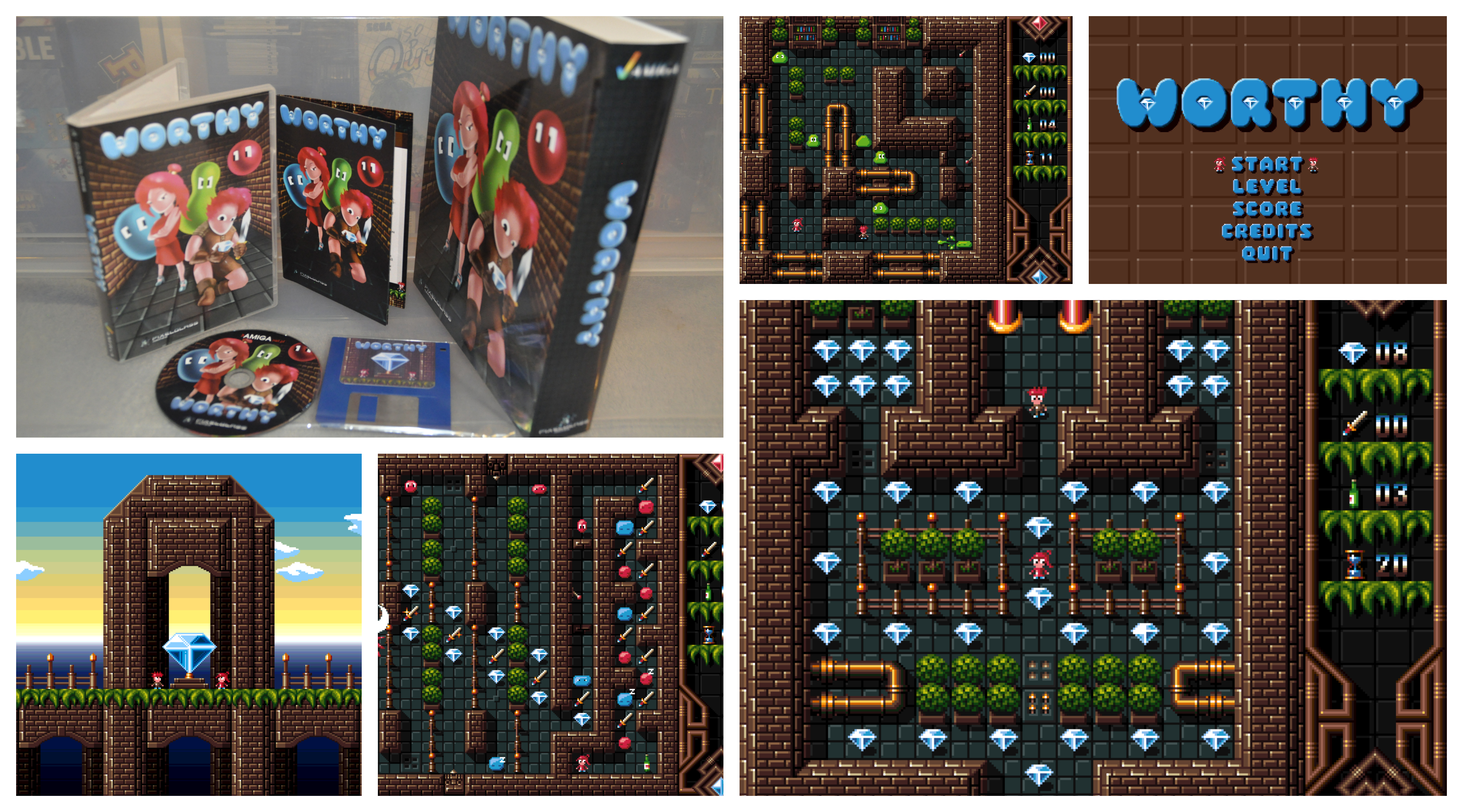 A Look At The Amiga Game Worthy And Worthy It Is!